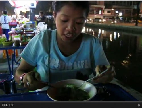 Green Kury Curry- Lek in Chiang Mai
