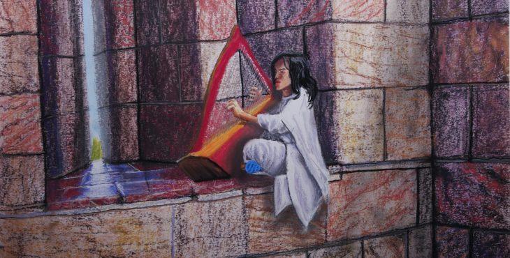 Harper Praises Jerusalem.  27 Apr 2019  .שבחי ירושלים בנבל