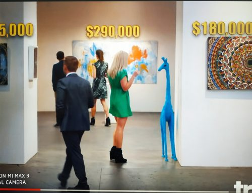 Art worth on the making 1,020,000$  Wishful,  ART MARKET AS SCAM   המסחרה באמנות